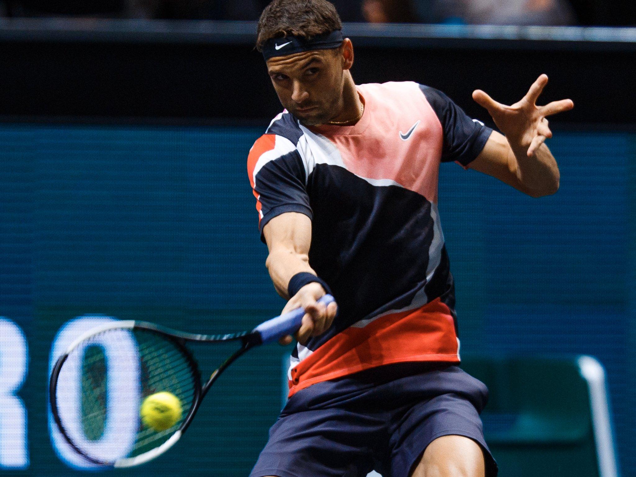 Grigor Dimitrov marca boa vitória na estreia de Roterdã