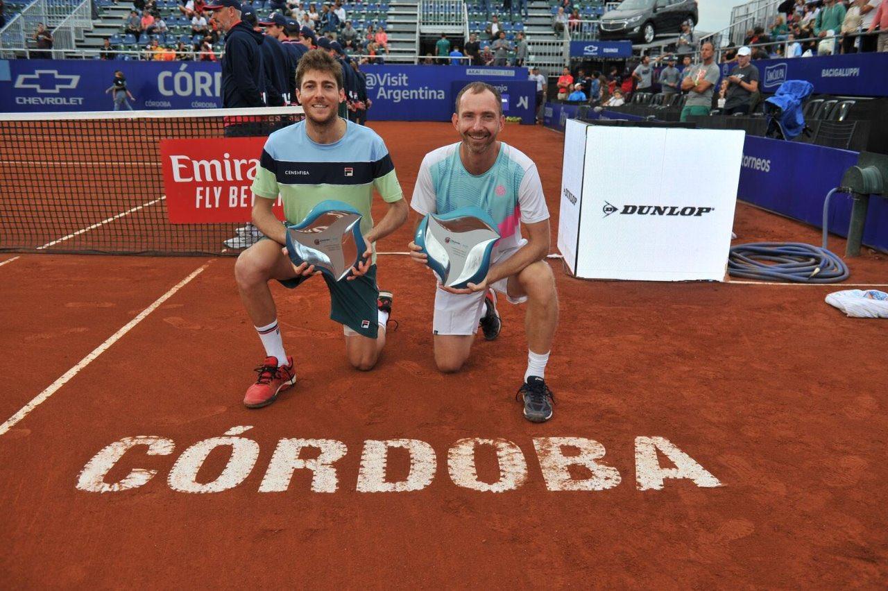 Marcelo Demoliner fica com o título de duplas em Córdoba