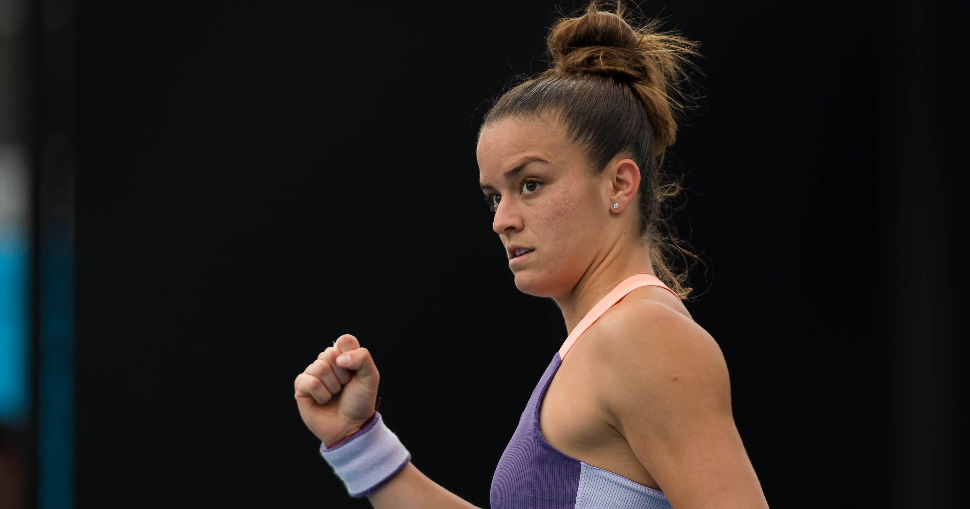 Maria Sakkari é destaque no WTA de São Petesburgo