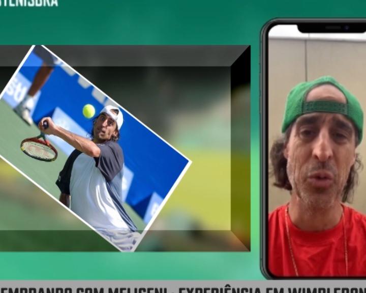 Fino Meligeni fala sobre Wimbledon