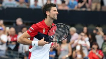 Torneio de Novak Djokovic vende 1.000 ingressos