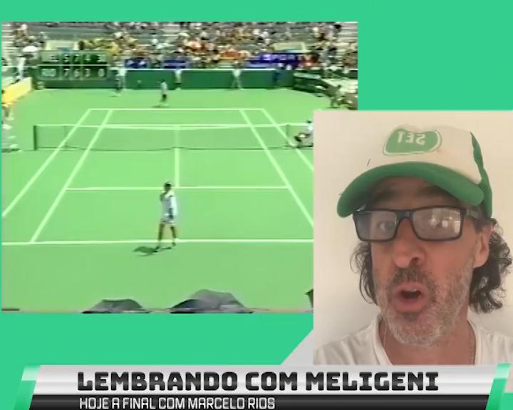 Fernando Meligeni fala sobre a final do Pan de 2003
