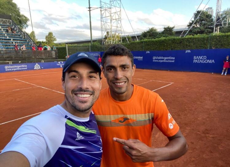Monteiro e Romboli avançam nas duplas em Buenos Aires