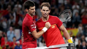 Djokovic anuncia doação para a campanha de Nadal
